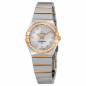 Omega Women's 12325246055005 Constellation Silver MOP Watch