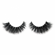 VOE Mink Strip Eyelashes Extension Fluffy Natural Horse Hair False Eye Lashes