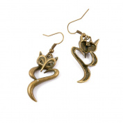 10 Pairs Earring Jewellery Making Charms Antique Bronze Findings Hooks Supplies Wholesale Supply Handmade V1JV3 Fox