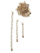 Necklace-Bracelet 2.5cm 5.1cm 10cm Extenders 30 Gold Tone ~ 10 Pieces Each Size