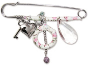 Gafforelli - Made in Italy Chains and Charms Pins (8cm ) in Mixed colour