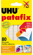 UHU Palafix Glue Pad Removable Reusable White 80 pads