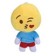 Toy,Baomabao Cute Emoji QQ Expression Plush Toy Doll