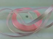 Solid Colour Satin Ribbon 0.6cm ,25yds,light pink