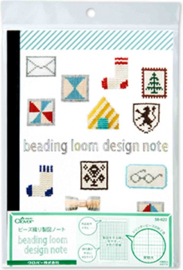 Clover beads woven drafting notes 58-622