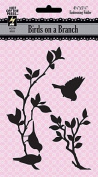 Hot Off The Press - Birds On A Branch Embossing Folder