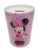 The tin box company Minnie on Purple Kids Coin (Money) Bank, Disney