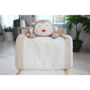 Baby Pillow For Newborn Organic Cotton, Protection for Flat Head Syndrome