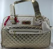 Betsey Johnson Gold Nappy Bag