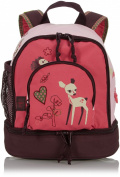 Lassig 4Kids Mini Backpack, Little Tree Fawn/Pink