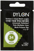 DYLON multi (dye for clothing and textile) 5g col.34 olive green
