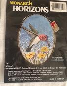 Anna's Hummingbird Printed Cross Stitch Kit TA57