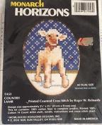 Country Lamb Printed Cross Stitch Kit TA53