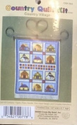 Cross My Heart - Country Quilt Kit - Country Village - Cross Stitch Kit CSK-534