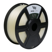 WYZworks PLA 1.75mm [ CLEAR ] Premium Thermoplastic Polylactic Acid 3D Printer Filament - Dimensional Accuracy +/- 0.05mm 1kg / 2.2lb + [ Multiple Colour Options Available ]