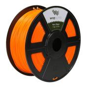 WYZworks PLA 1.75mm [ ORANGE ] Premium Thermoplastic Polylactic Acid 3D Printer Filament - Dimensional Accuracy +/- 0.05mm 1kg / 2.2lb + [ Multiple Colour Options Available ]
