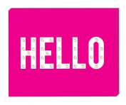 Heidi Swapp Marquee Love Box Hello