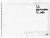 BERNINA 830 Sewing Machine Instruction Manuals on CD/PDF + Adjustment Guide for Bernina 830/831/