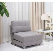 New York Convertible Chair Bed, Ash