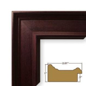 24x 24 Picture / Poster Frame Smooth Grain Finish 5.1cm Wide Mahogany
