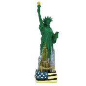 23cm Statue of Liberty Replica NYC Skyline American Flag Statues  [Special Edition]