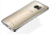 Samsung Galaxy S7 Case,Inspirationc® PREMIUM BUMPER Glimmer lustre Electroplated & Transparent Design Slim Premium Soft Back Cover for Samsung Galaxy S7--Silver