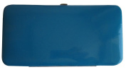 TOPCHOICE Women's Teal Patent Clutch Wallet