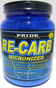 Best Complex Carbohydrate Powder - Pride Nutrition RE-CARB Micronized Unflavored 2.11g
