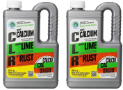 Calcium, Lime, and Rust Remover 830ml - 2 Pack