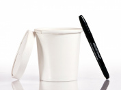 Solo 350ml Take Out Cup & Lid (25ct) - Durable for Soup, Ice Cream, Frozen Yoghurt, and To-Go Lunches - Bundled with WhoseFood.® Pen - Hot / Cold Paper Food Container for Storage and Freezer