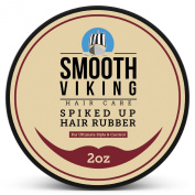 Spiked Up Hair Rubber Wax - The Best Styling Formula for Men - Perfect for Short, Modern, Wild and Spiky Hair Types - 60ml - Smooth Viking