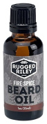 Rugged Riley All Natural Men's Fire Spice Beard Oil