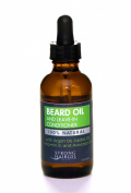 Strong Men Beard Oil and Leave-In Conditioner 100% Natural With Argan and Jojoba Oil for Healthy Beard Growth