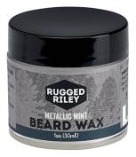 Rugged Riley All Natural Men's Metallic Mint Beard Wax