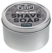 Rugged Riley All Natural Men's Metallic Mint Shave Soap