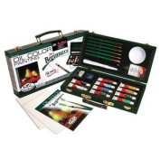 25 Pc Oil Colour Painting for Beginners Set