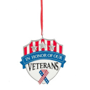 """""""In Honour of our Veterans"""" Ornament"""