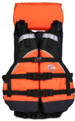 MTI Adventurewear Explorer Life Jacket, Universal Size, Orange/Black
