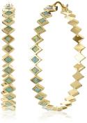 Noir Jewellery Nero Hoop Earrings