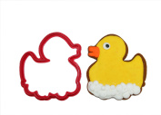 Rubber Ducky with Bubbles Cookie Cutter