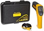 Fluke 561CAL HVAC Pro Infrared Thermometer, 2 AA Battery, -40 to +1022 Degree F Range with a NIST-Traceable Calibration Certificate with Data