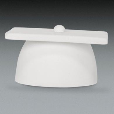 WHITE Graduation Cap Gumpaste Cake Topper