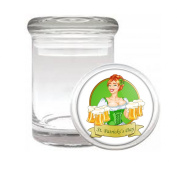 Patty's Girl St. Patrick's Day Medical Odourless Glass Jar