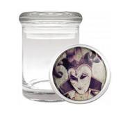 Gothic Joker Card Vintage Medical Odourless Glass Jar