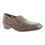 Women's Jenny by ara Rosa 51179 Slip-On Taupe Leather