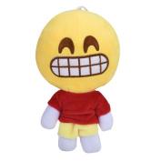 FTXJ Baby Kids Emoji Plush Doll, 20cm QQ Expression Soft Toy Home Decor With 4 Colours