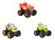 Blaze and the Monster Machines Bath Squirters Bundle includes 3 Items
