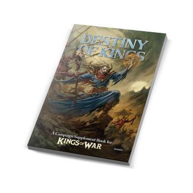 Kings of War Destiny of Kings Supplement Book