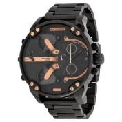 Diesel Men's Mr. Daddy DZ7312 Black Stainless-Steel Quartz Watch