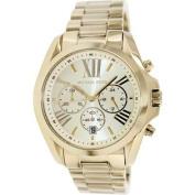 Michael Kors Bradshaw Gold-Tone Chronograph Ladies Watch MK5605